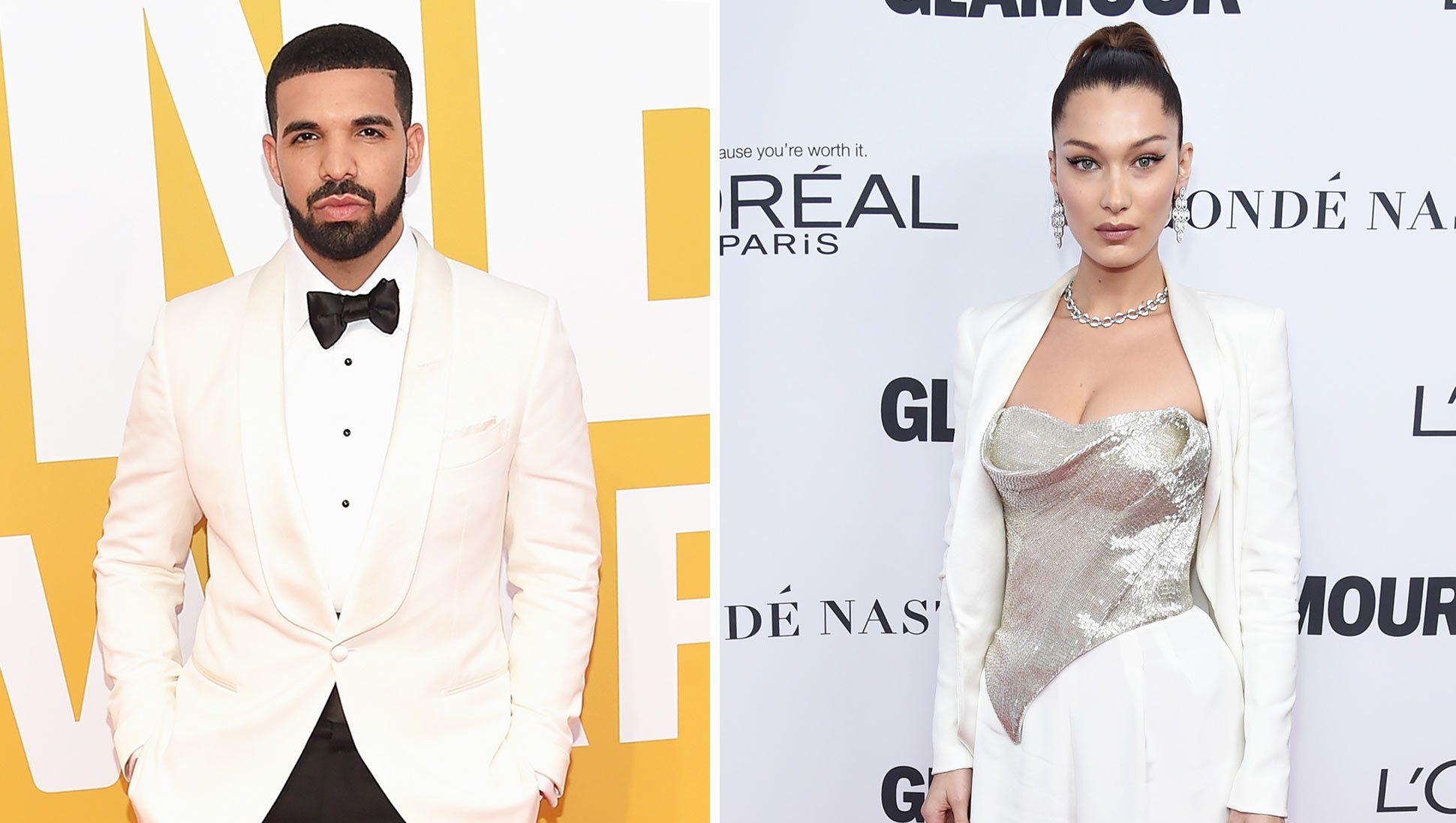 Drake; Bella Hadid