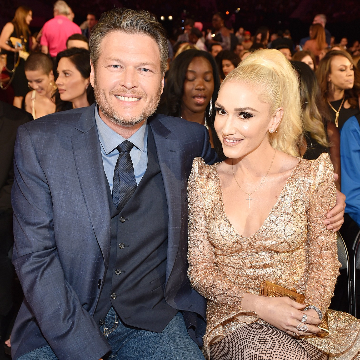 Blake Shelton Gwen Stefani Billboard Music Awards 2017