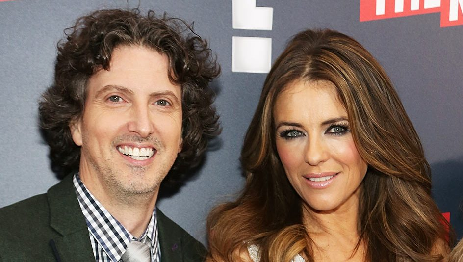 Mark Schwahn and Elizabeth Hurley