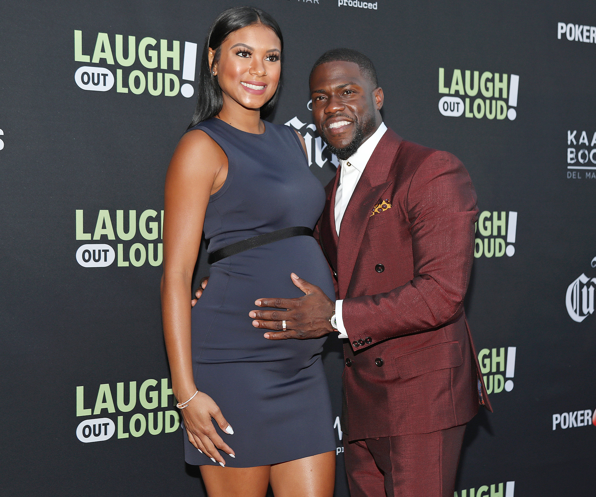 Kevin Hart shares photo of newborn son Kenzo