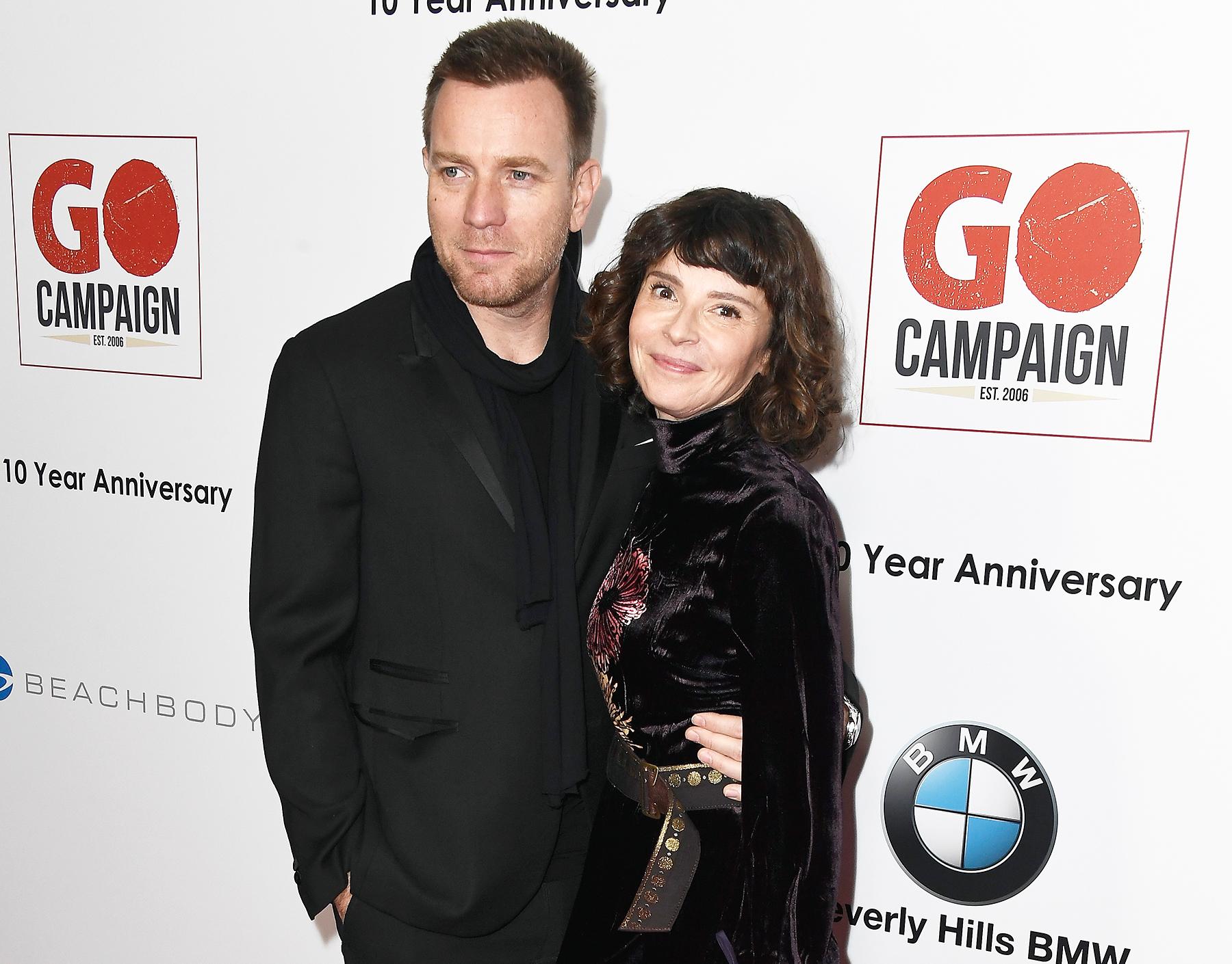 Ewan McGregor's estranged wife Eve breaks silence on husband's new girlfriend