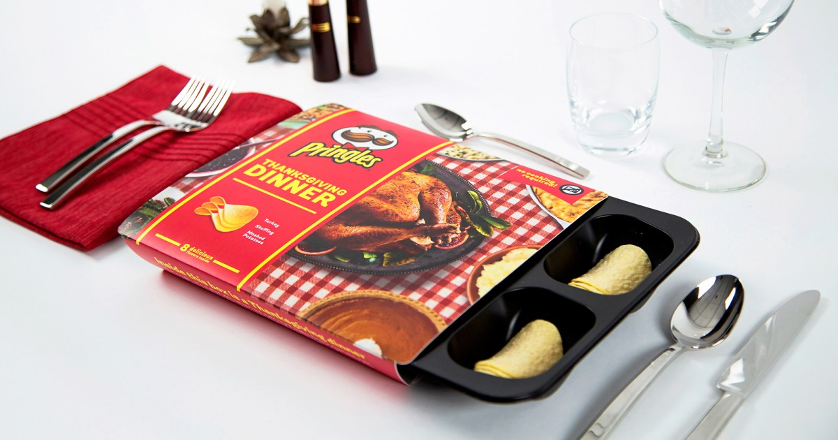 Pringles Reveals Thanksgiving Dinner Made Out of Chips