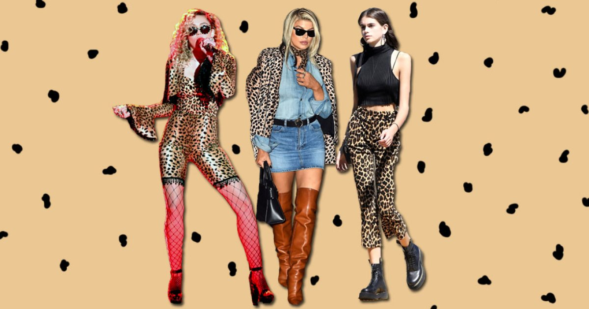 1f1464609622 Celebrities Who Slay in Leopard Print: The Best Dresses, Pants, Shirts and  More