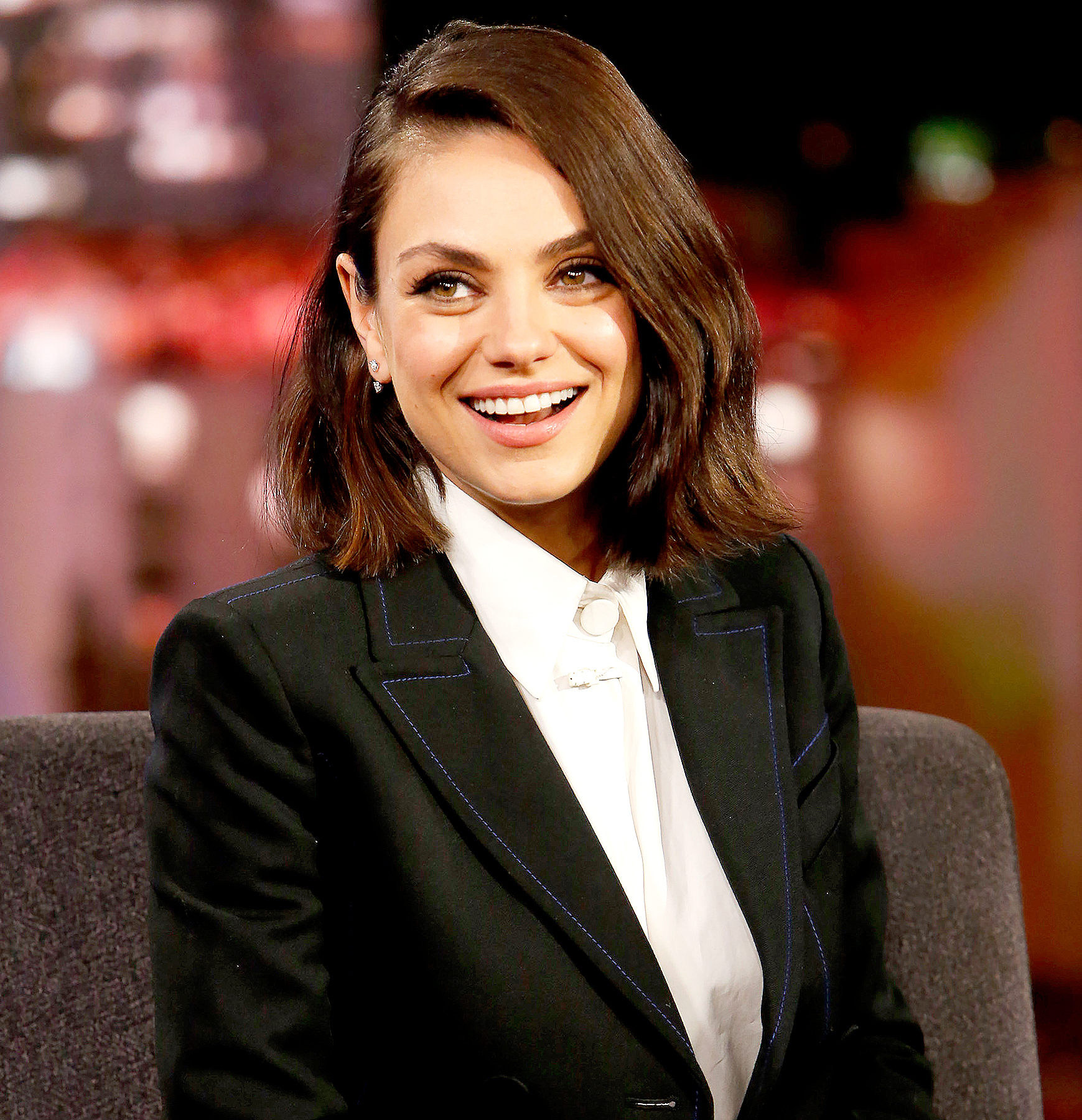 this is what mila kunisu0027 toddler thinks she does for a living