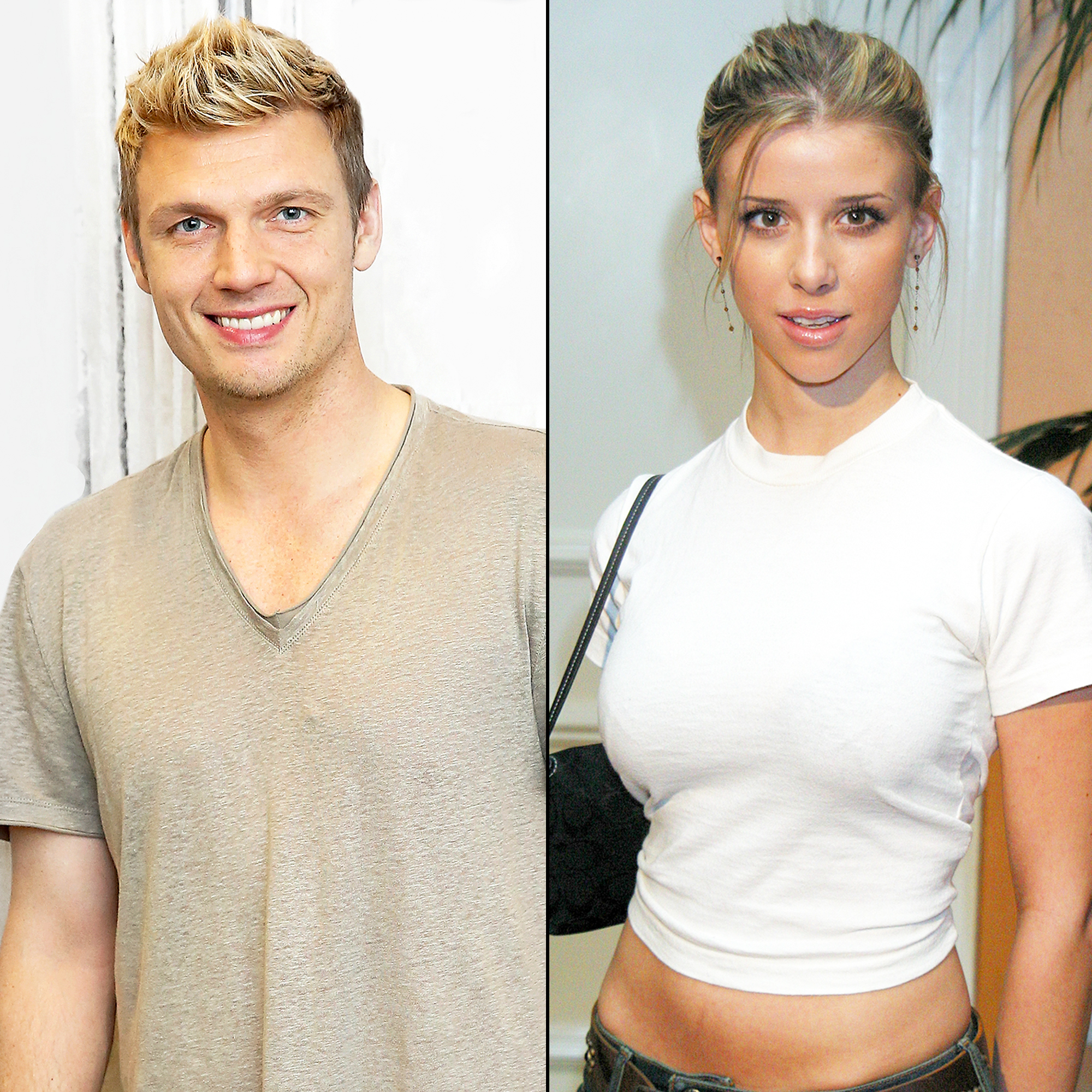 Nick Carter and Melissa Schuman