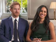 Prince Harry and Meghan Markle Sit Down for First Joint ...
