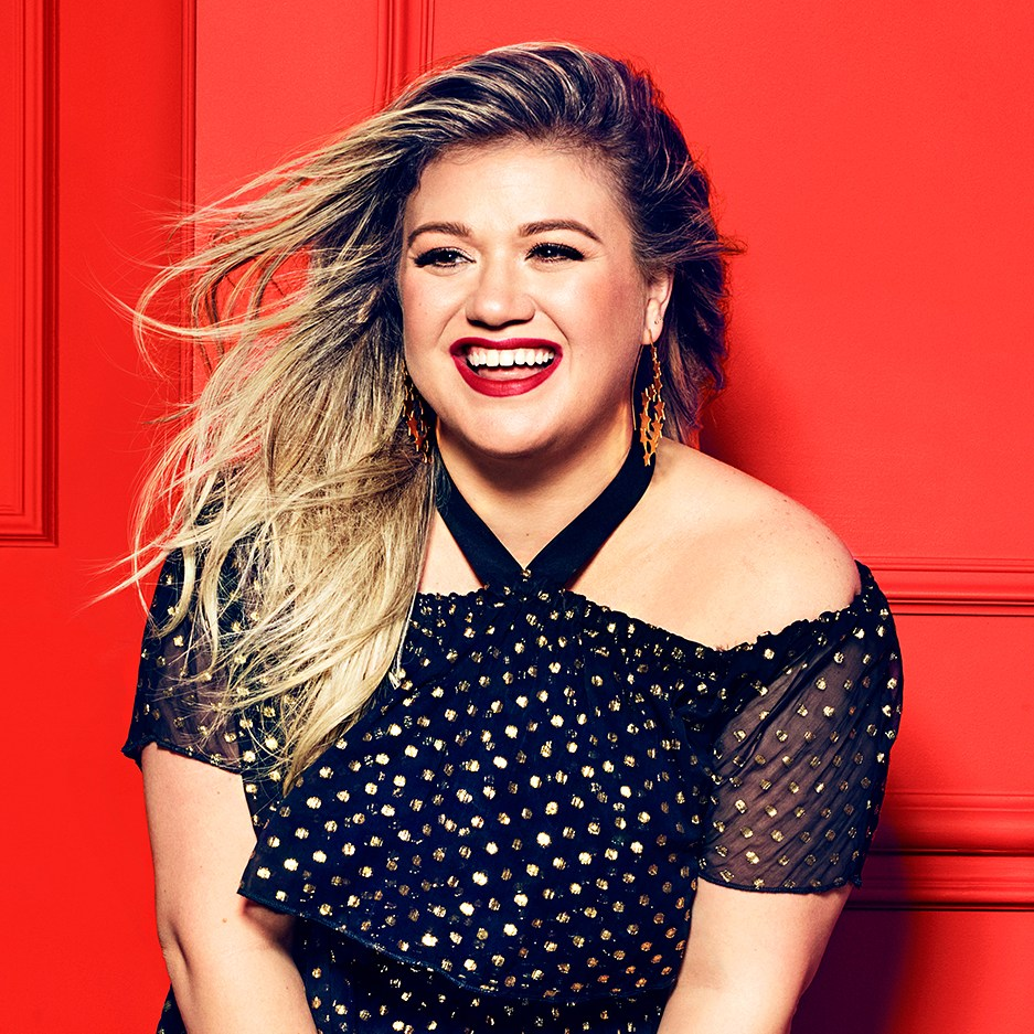 Kelly Clarkson Redbook Cover