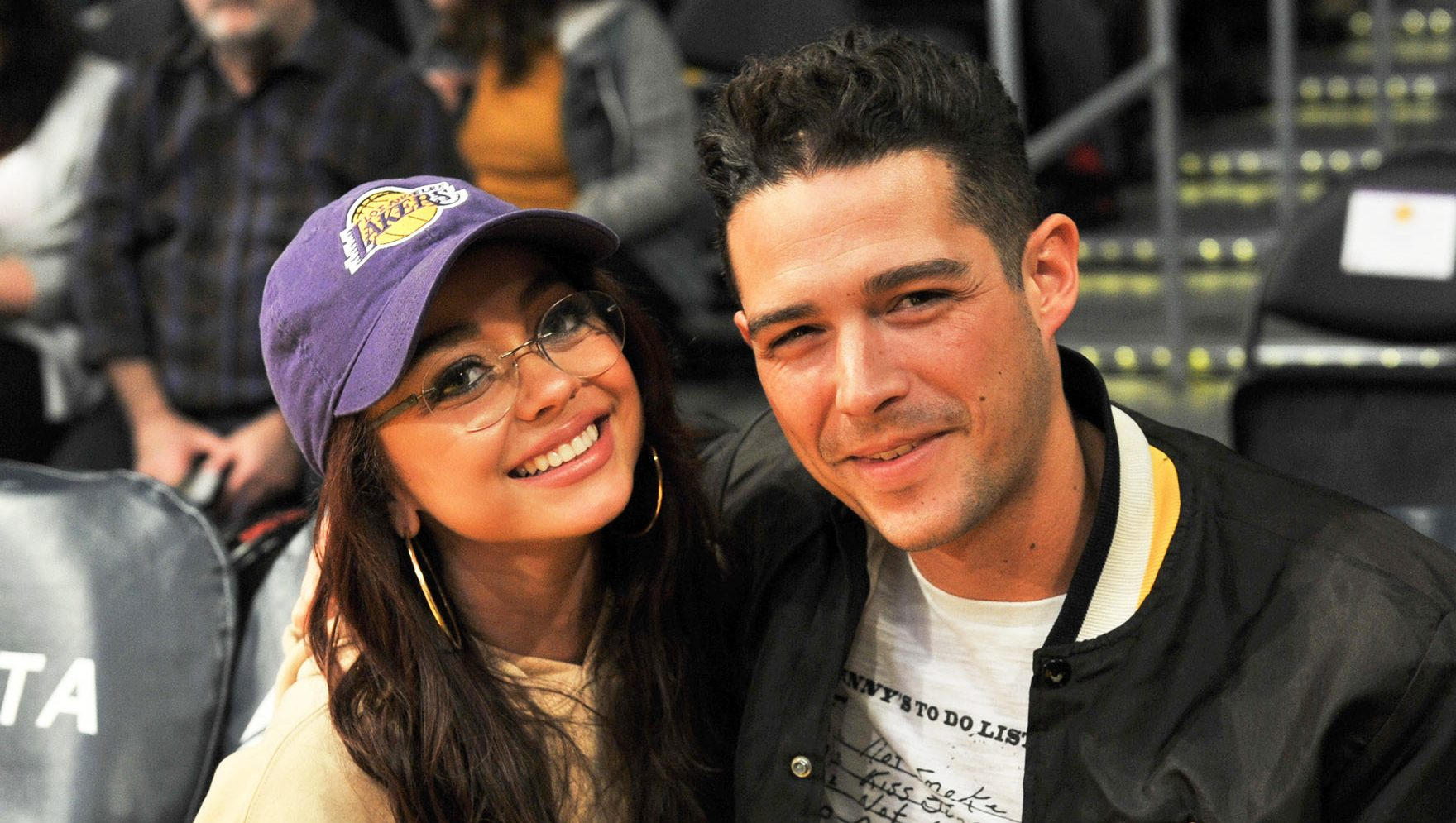 Sarah Hyland and boyfriend Wells Adams