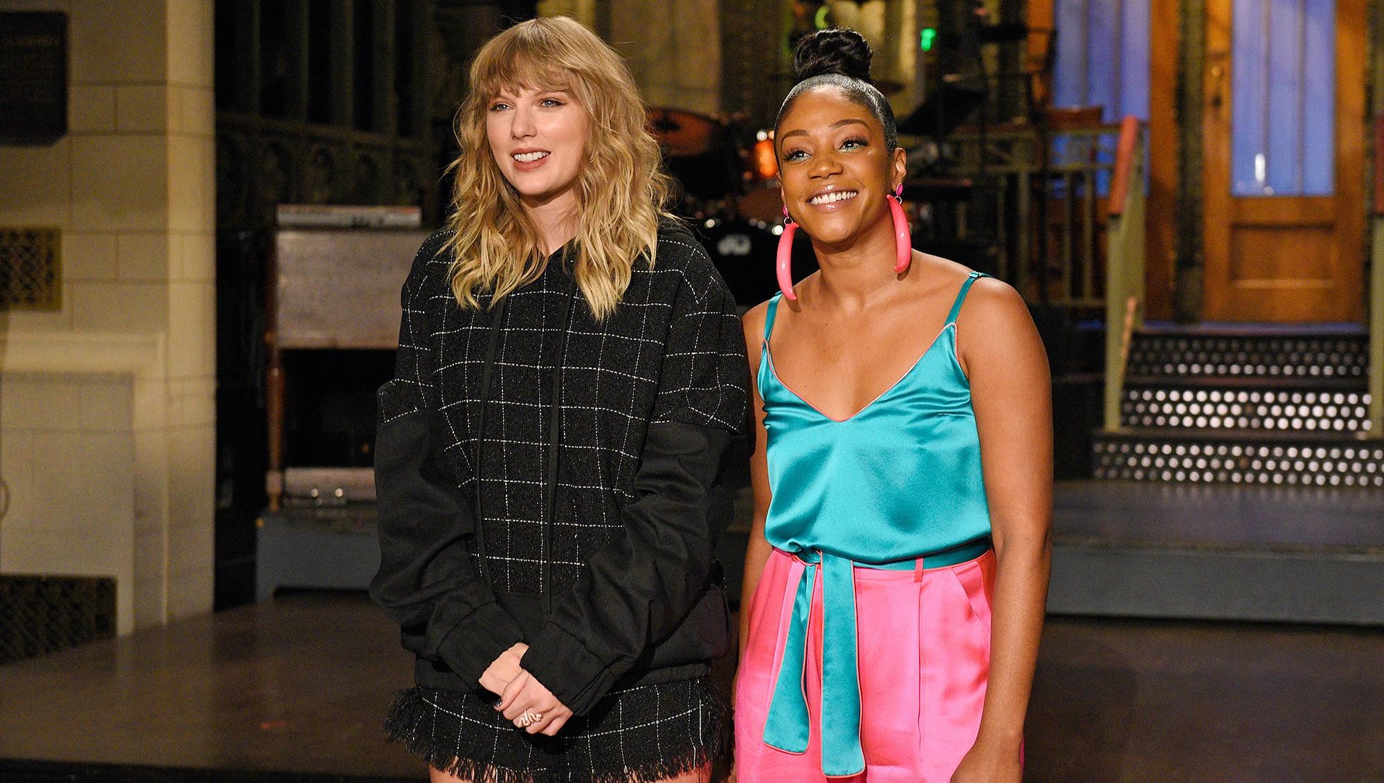 Taylor Swift, Tiffany Haddish, Saturday Night Live