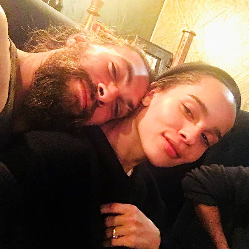 Zoe Kravitz and Jason Momoa Instagram