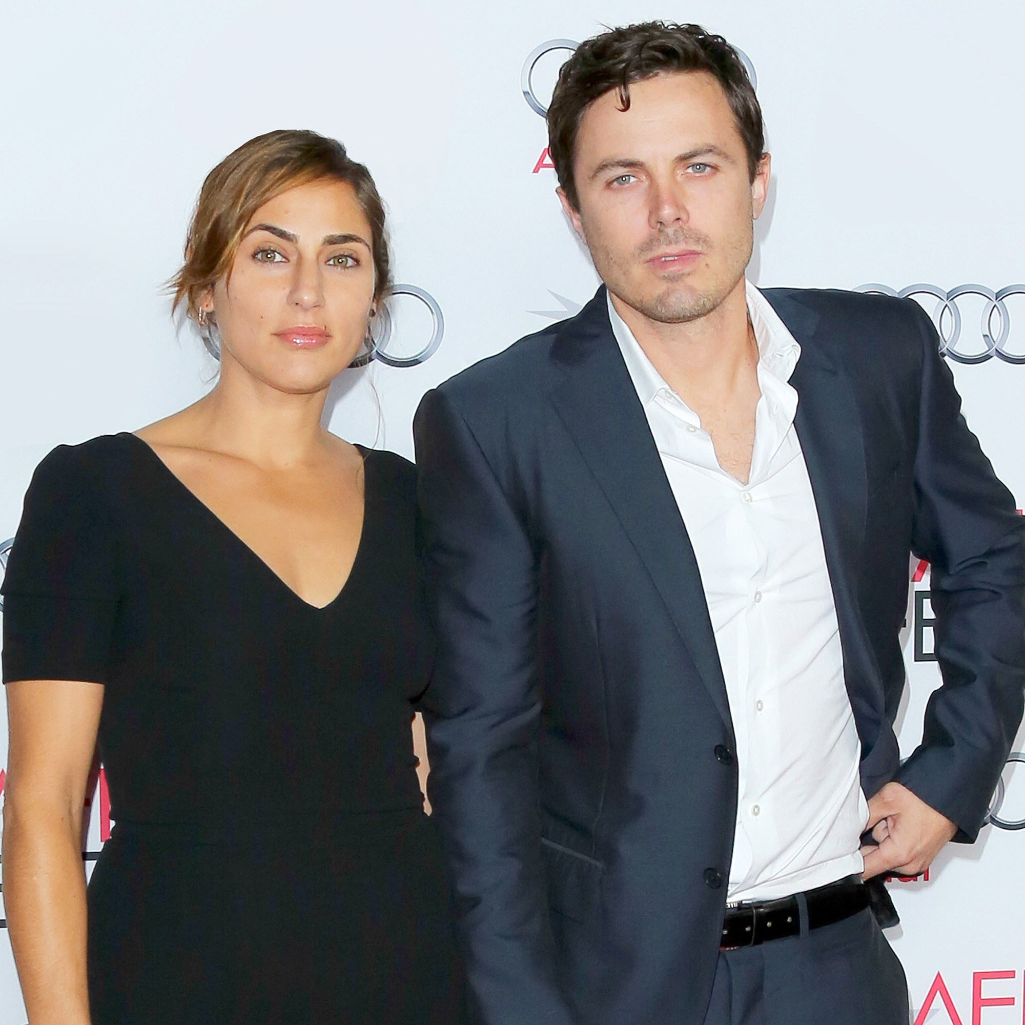 Casey Affleck and Summer Phoenix attend the AFI FEST 2013 at the TCL Chinese Theatre in Hollywood, California.