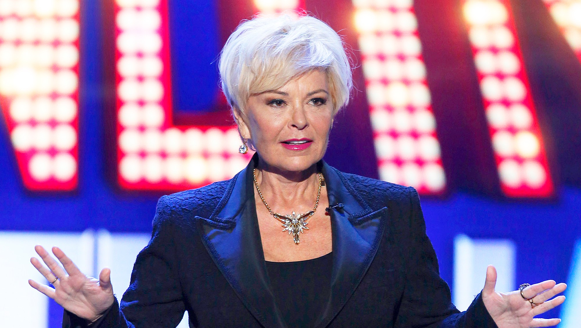 Roseanne Barr on 'Last Comic Standing'