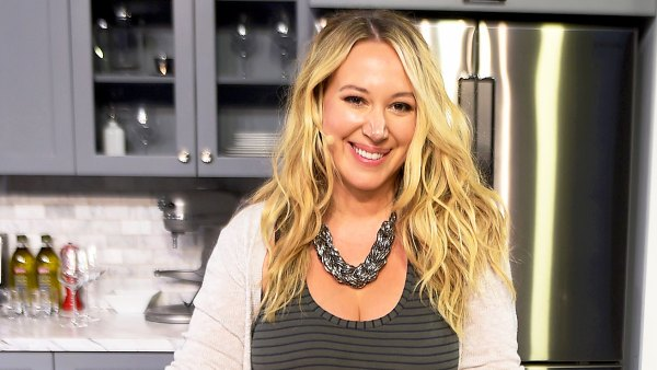Haylie Duff attends the Food Network & Cooking Channel New York City Wine & Food Festival at Pier 94 in New York City.