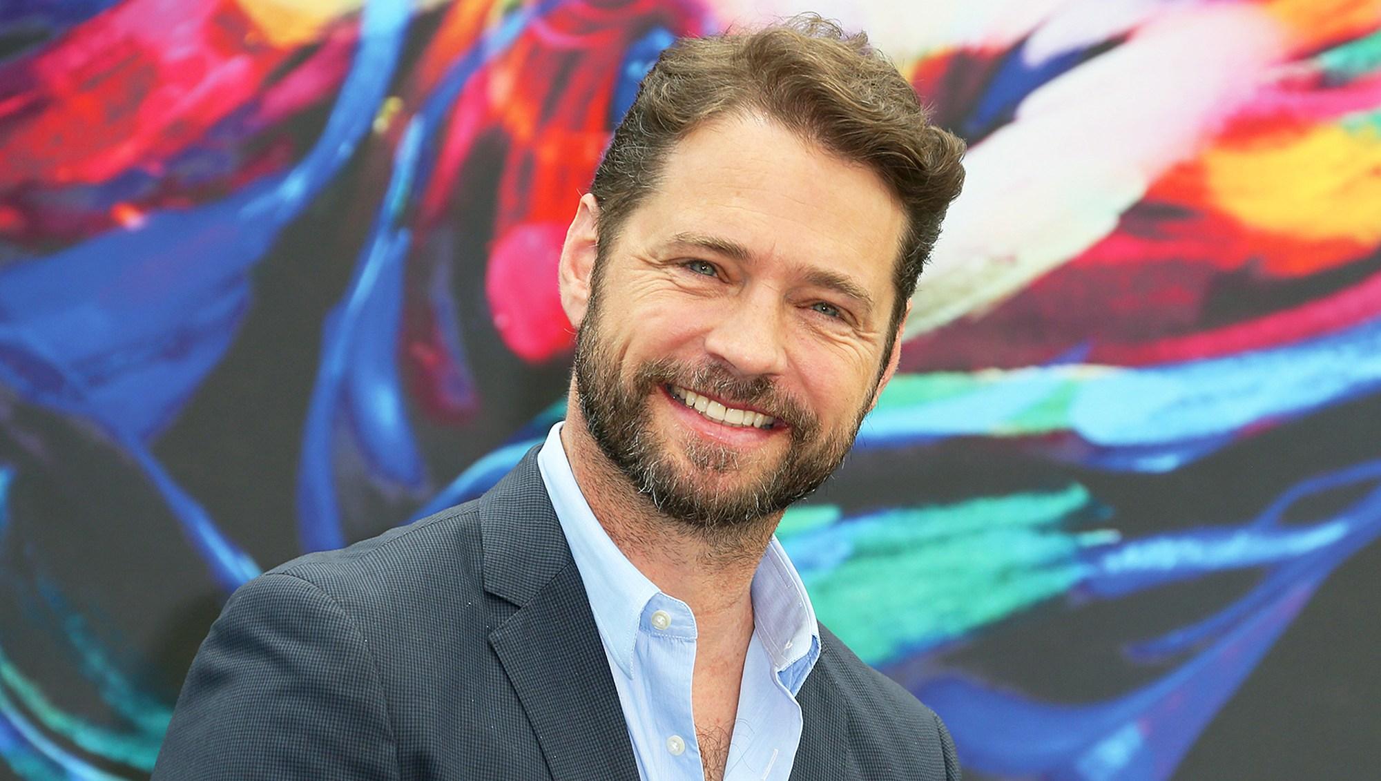 Jason Priestley attends the 56th Monte Carlo Tv Festival at the Grimaldi Forum in Monte-Carlo, Monaco.