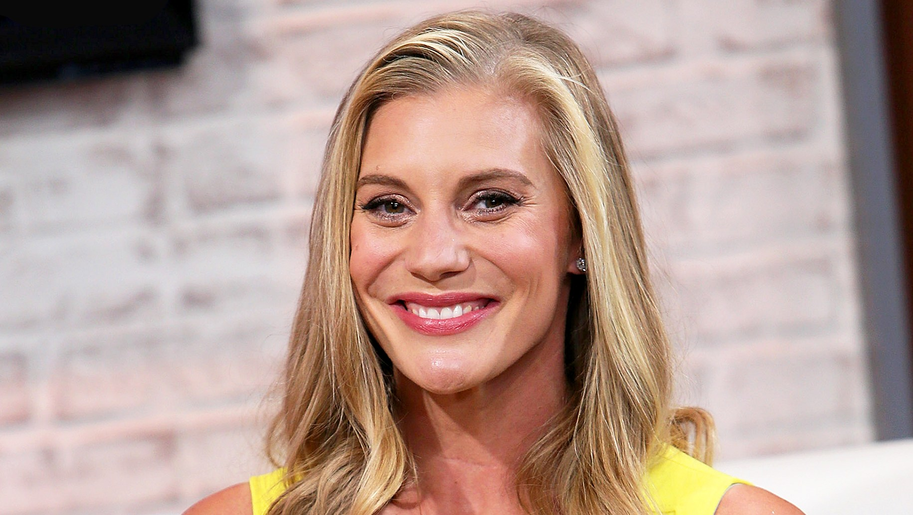 Katee Sackhoff visits Hollywood Today Live in Hollywood, California.