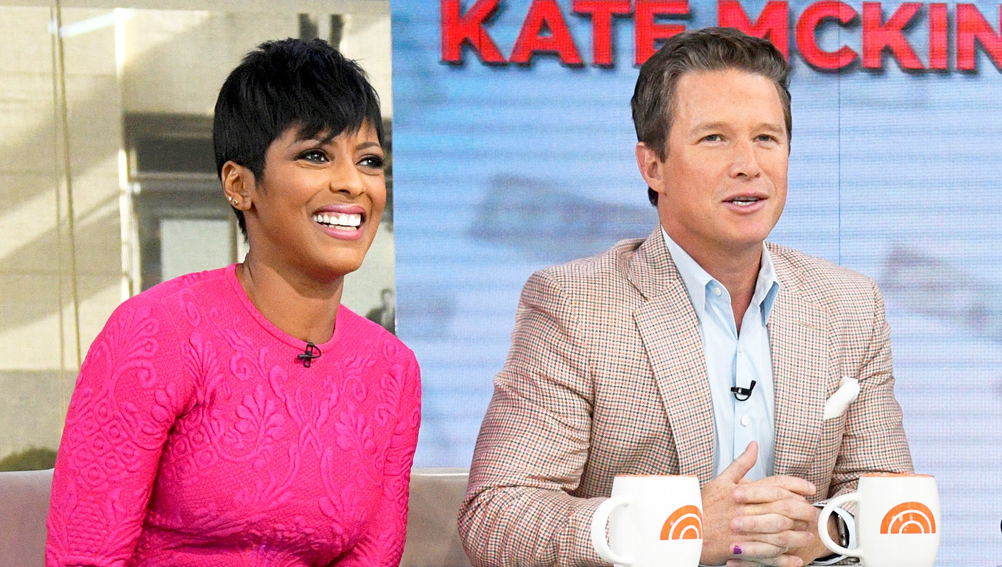 Tamron Hall and Billy Bush on 'Today' show