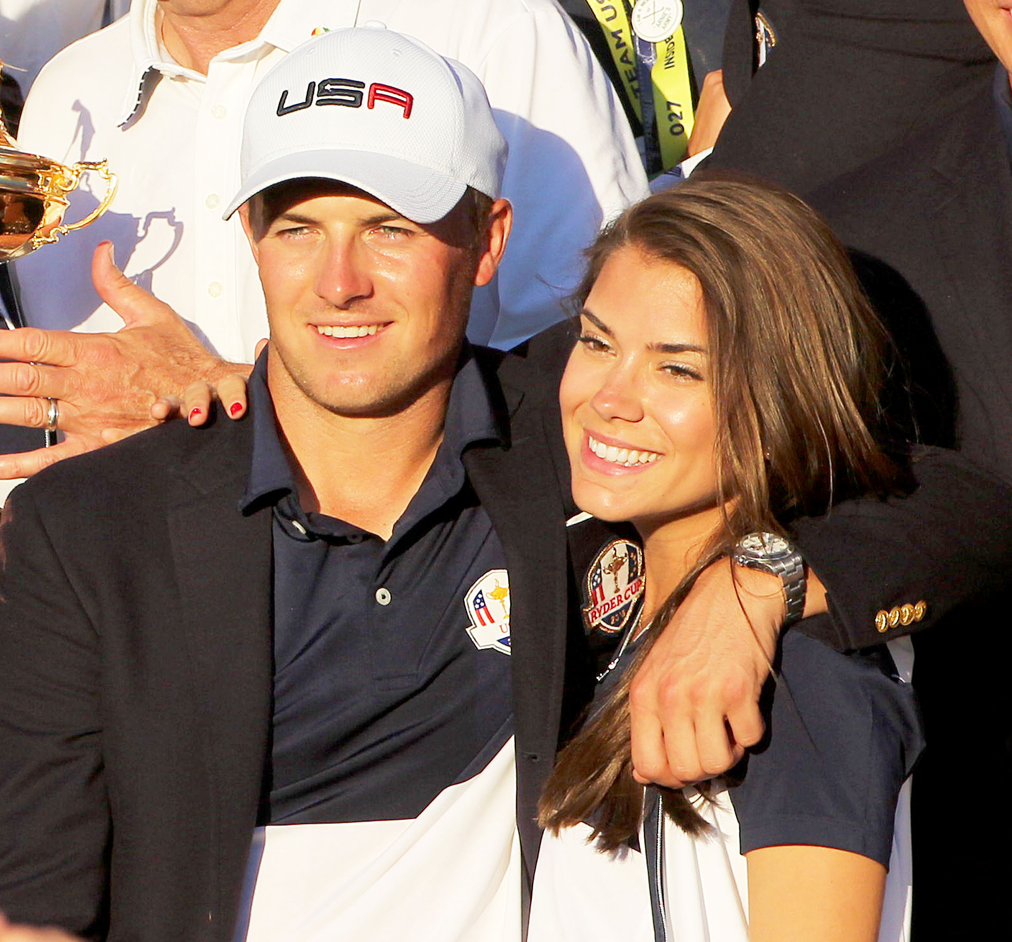 Jordan Spieth, Annie Verret together