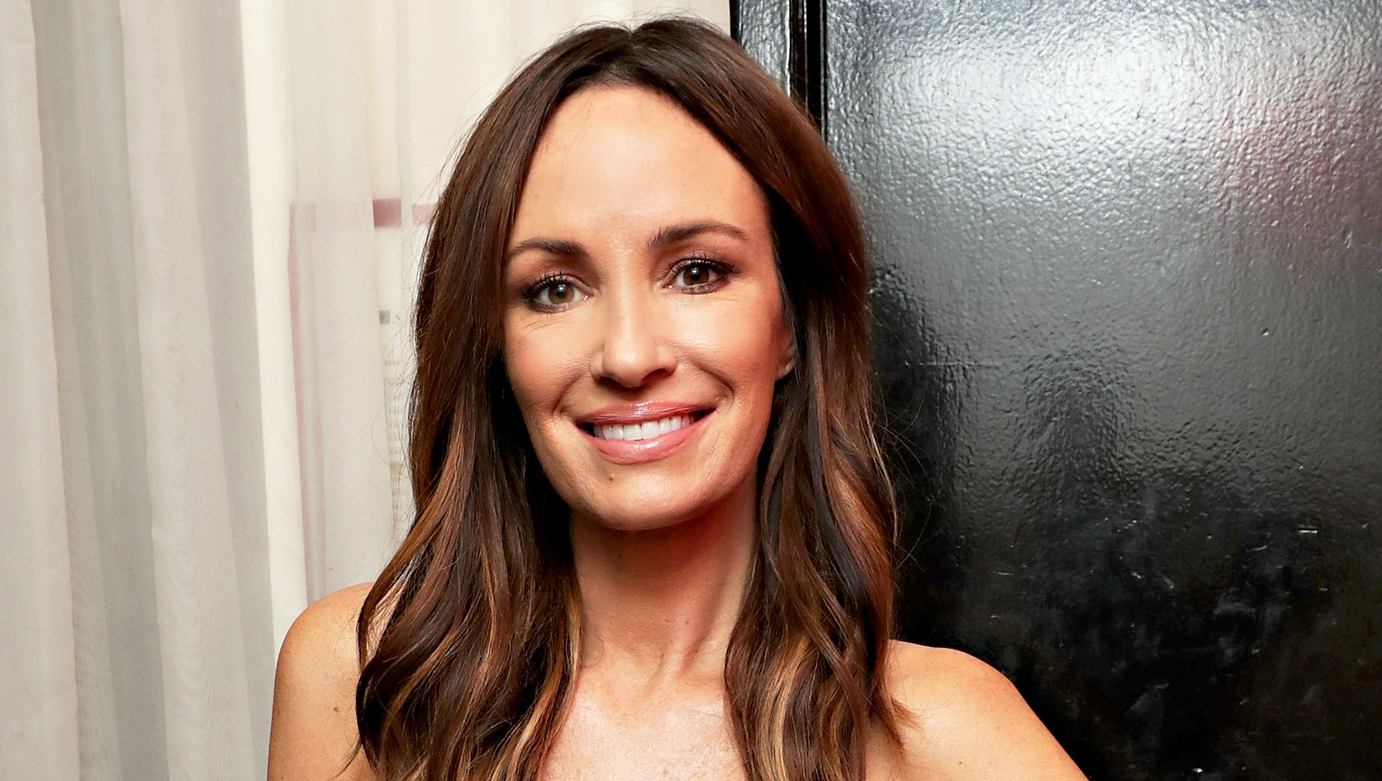 Catt Sadler attends the Simply Stylist New York Dinner presented by French Connectionon in New York City.