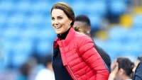 Catherine, Duchess of Cambridge visits Aston Villa Football Club on November 22, 2017 in Birmingham, England.