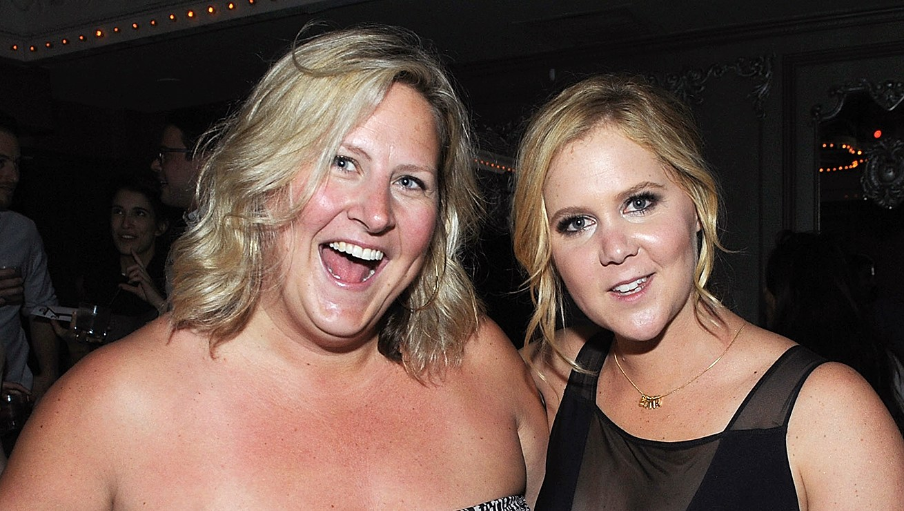 Bridget Everett and Amy Schumer