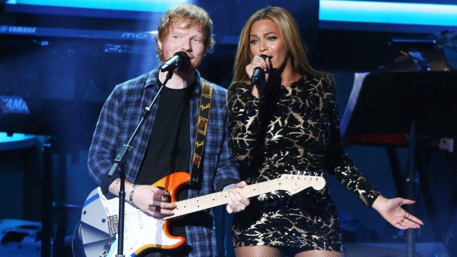 Ed Sheeran and Beyonce