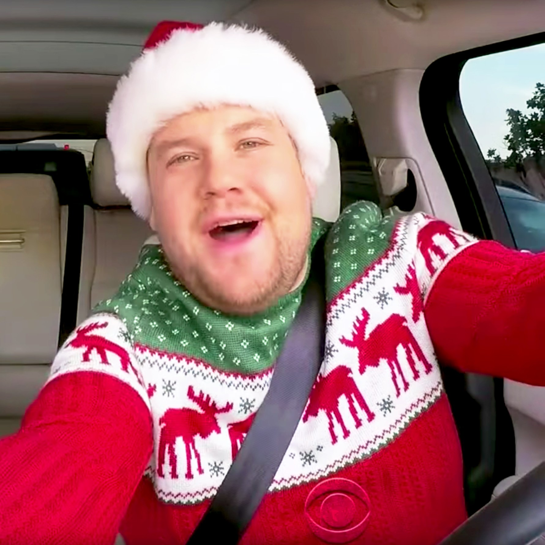 James Corden in Christmas 'Carpool Karaoke'