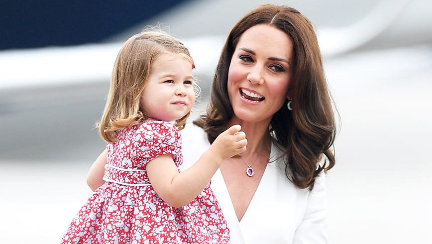 Princess Charlotte and Catherine, Duchess of Cambridge
