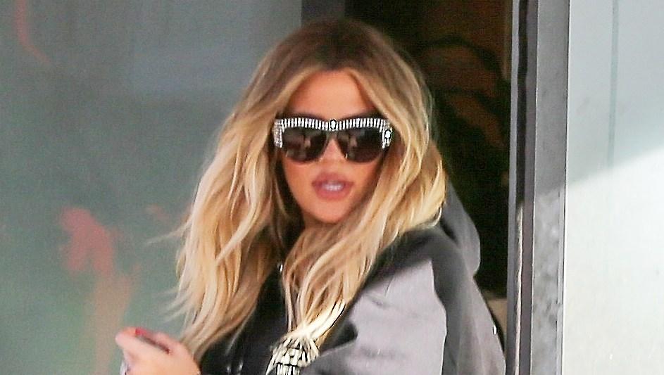 Pregnant Khloe Kardashian