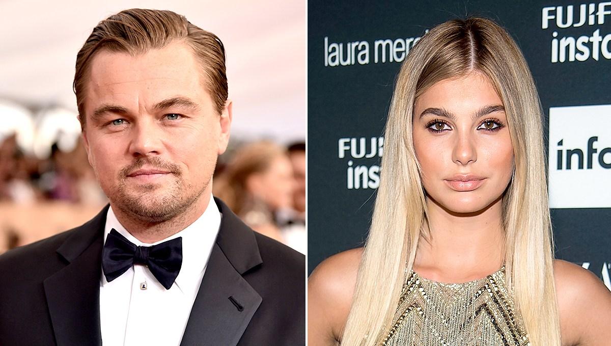Leonardo DiCaprio and Cami Morrone hooking up