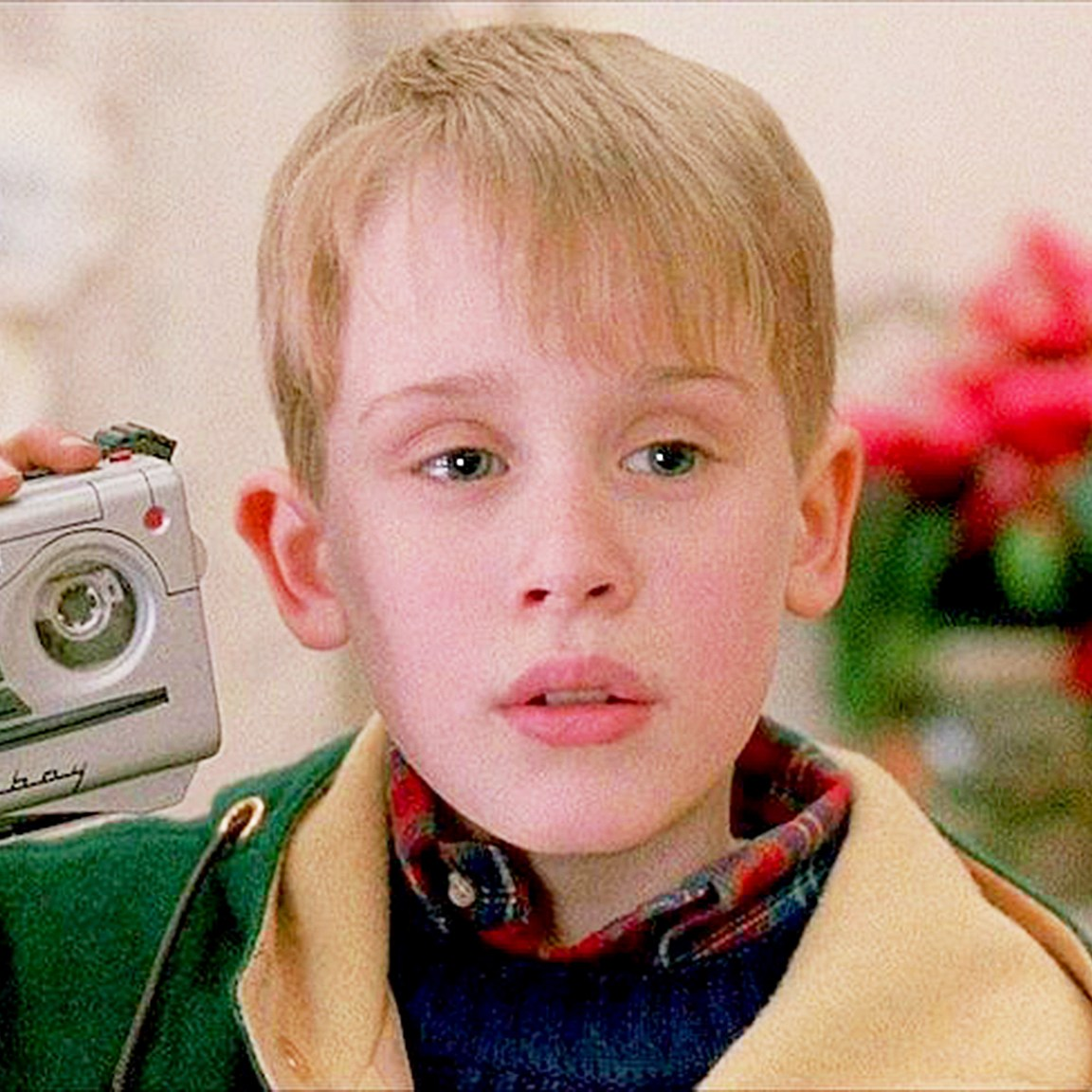 Macaulay Culkin as Kevin McCallister in 'Home Alone 2'