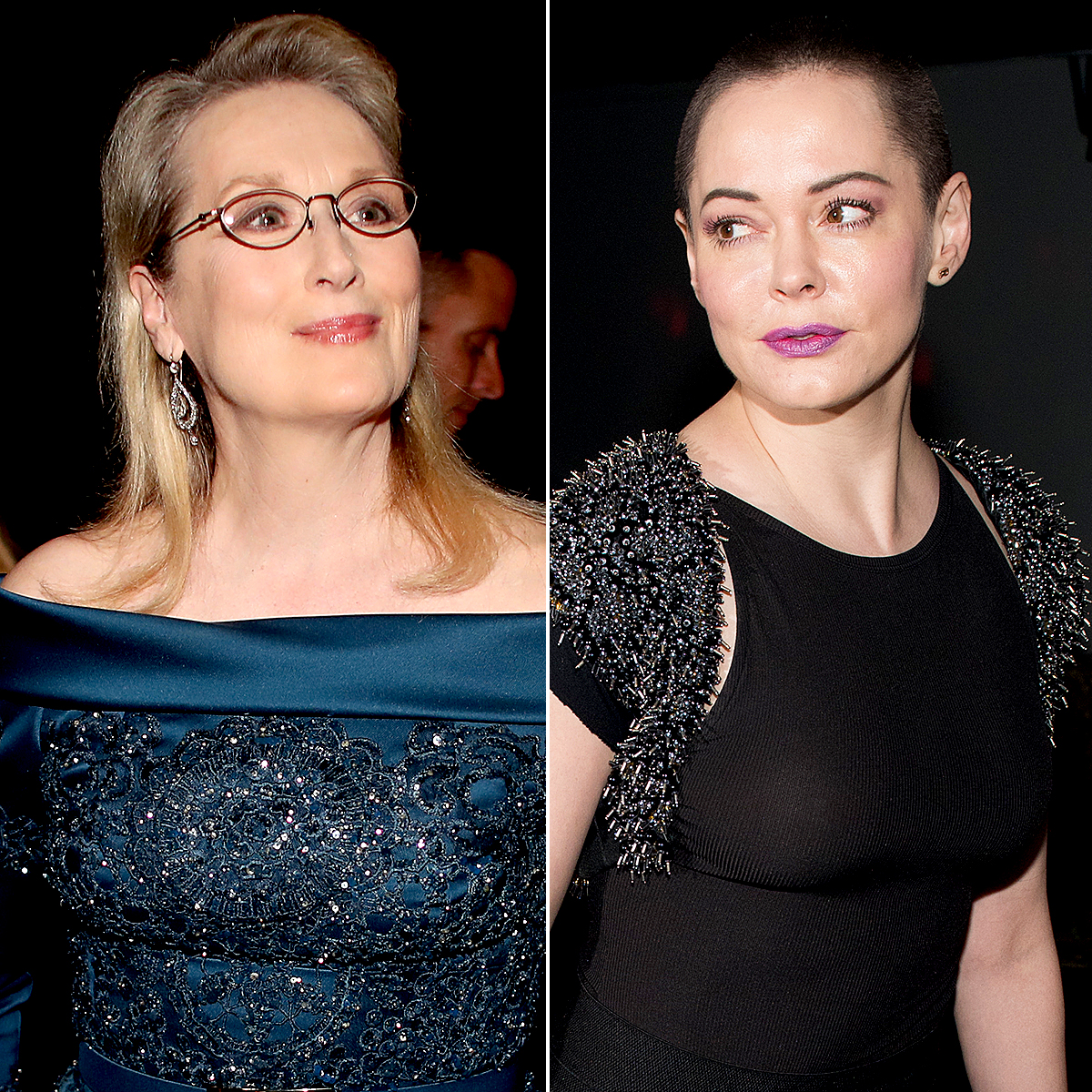 Rose McGowan Slams Meryl Streep For Silent Protest Planned For Golden Globes