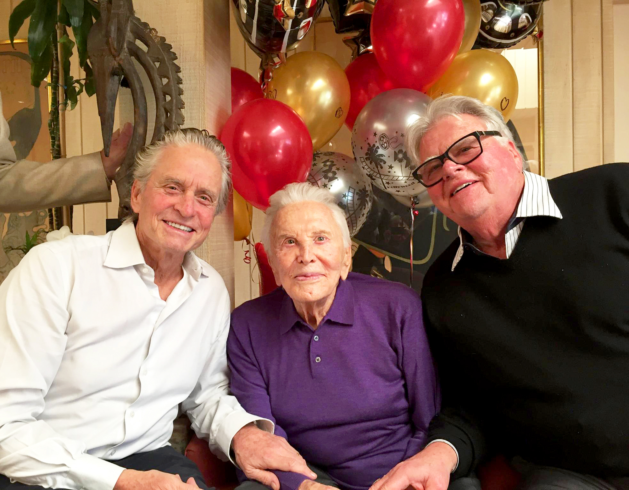 Kirk Douglas Celebrates 101st Birthday - An Exclusive Look Inside The Family Party