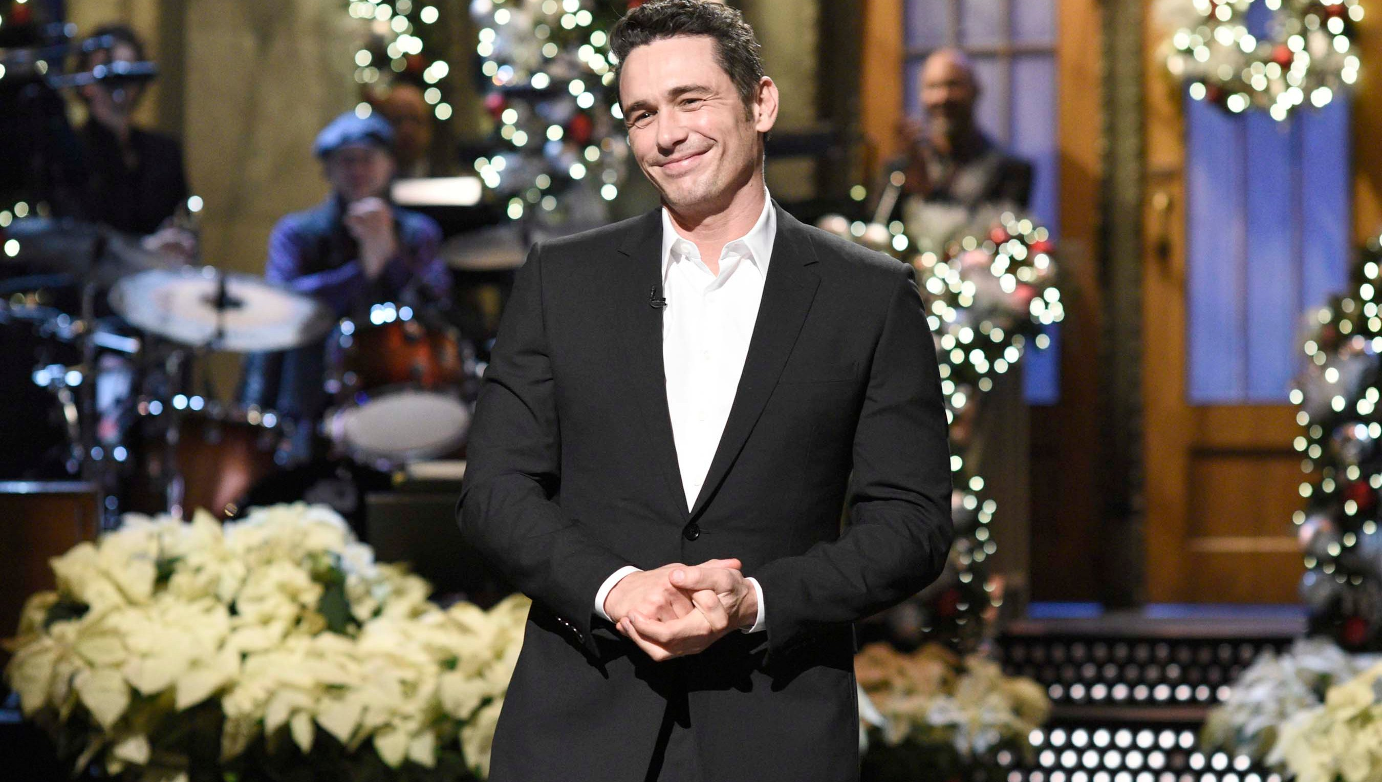 James Franco hosts SNL December 9, 2017