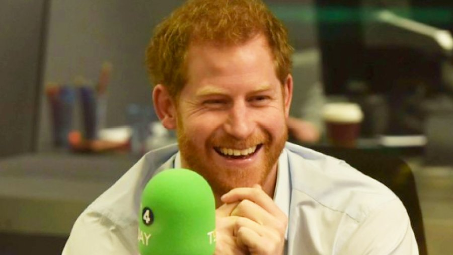 Prince Harry on 'BBC Radio 4's Today show'