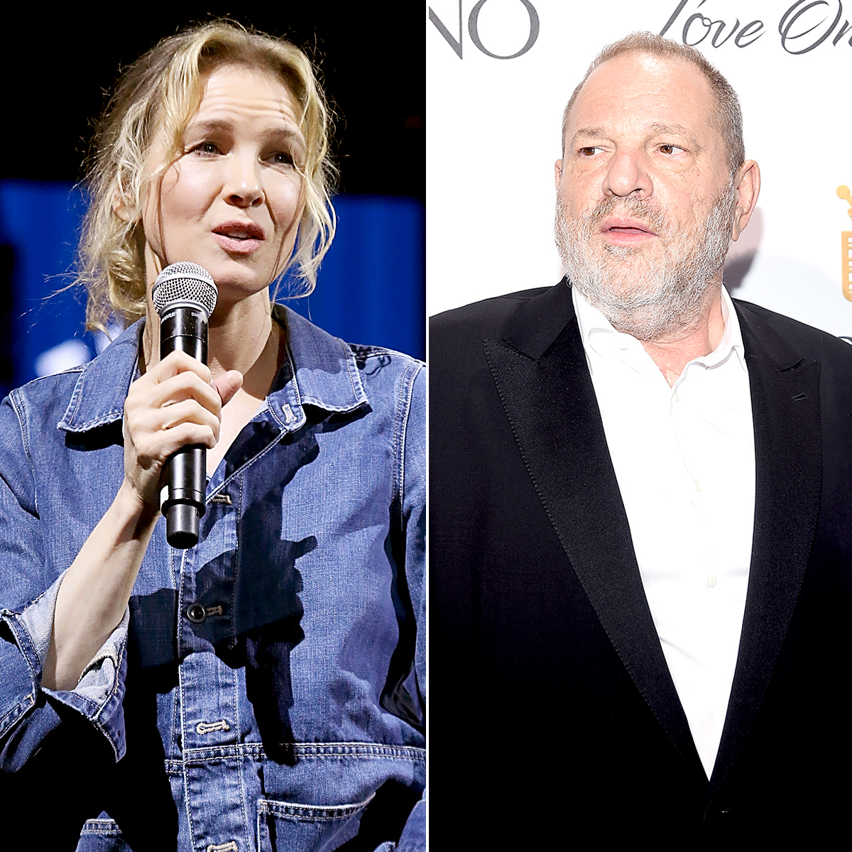 Renee Zellweger disgusted by Harvey Weinstein 'sexual favours' rumours