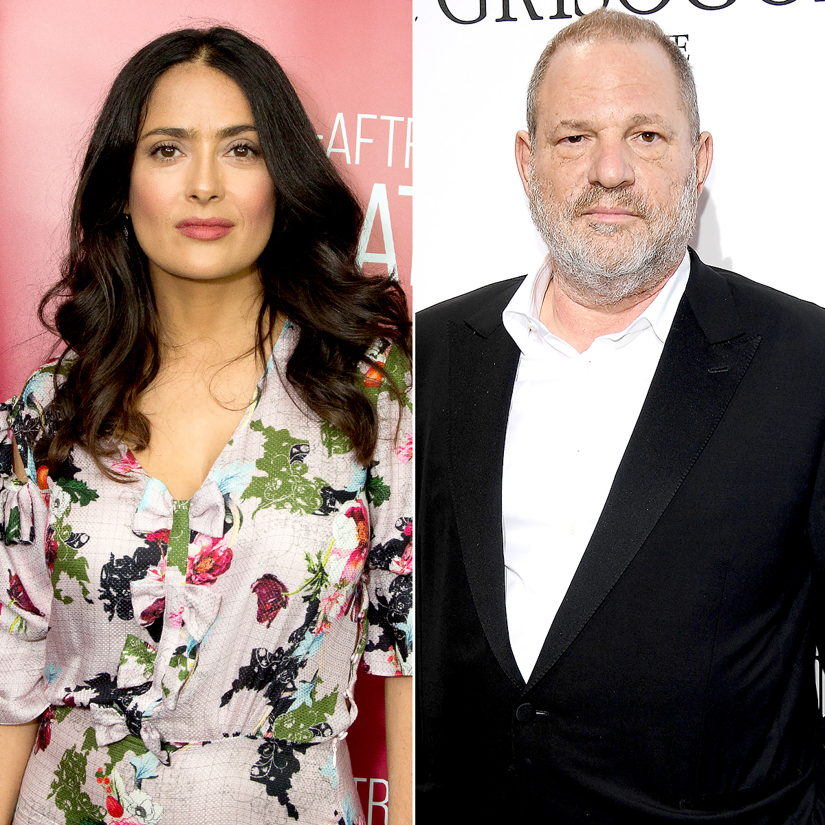 Salma Hayek tells of Harvey Weinstein 'the monster'