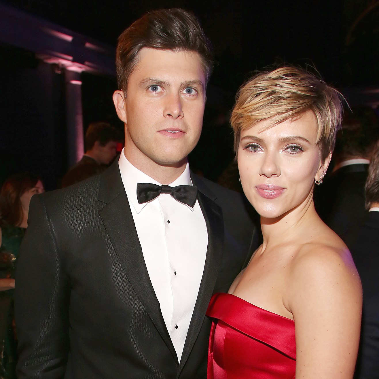 Colin Jost Scarlett Johansson The 2017 Museum Gala