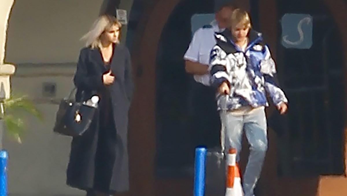 Selena Gomez, Justin Bieber, Private Jet, Van Nuys Airport