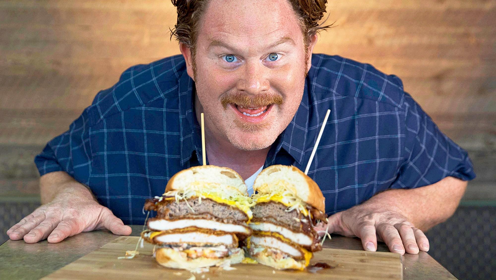 Casey Webb of 'Man V. Food'