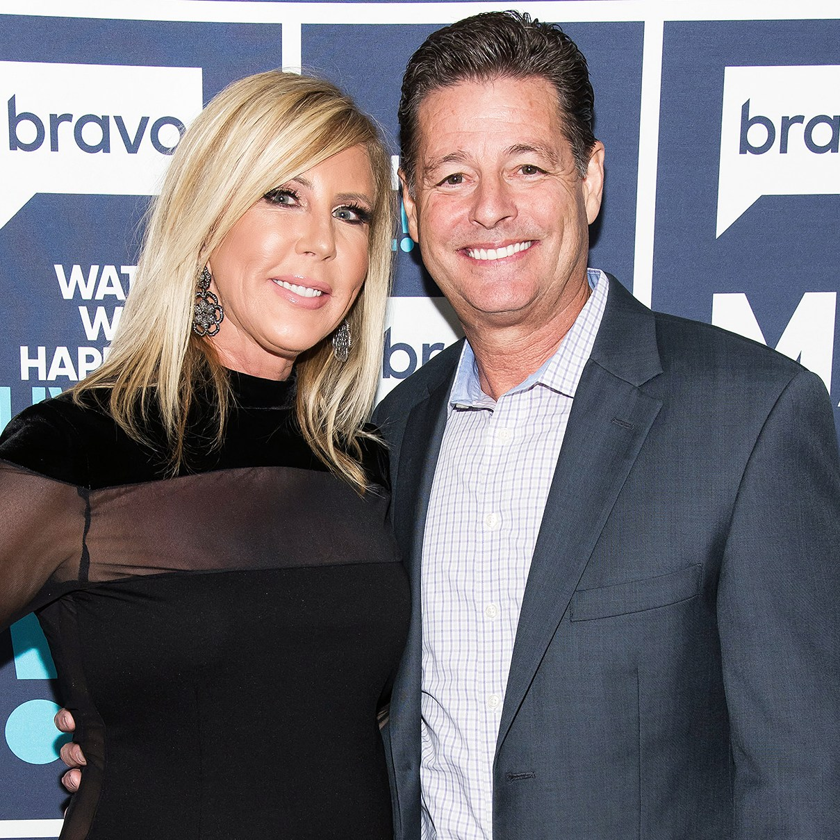 Vicki Gunvalson and Steve Lodge