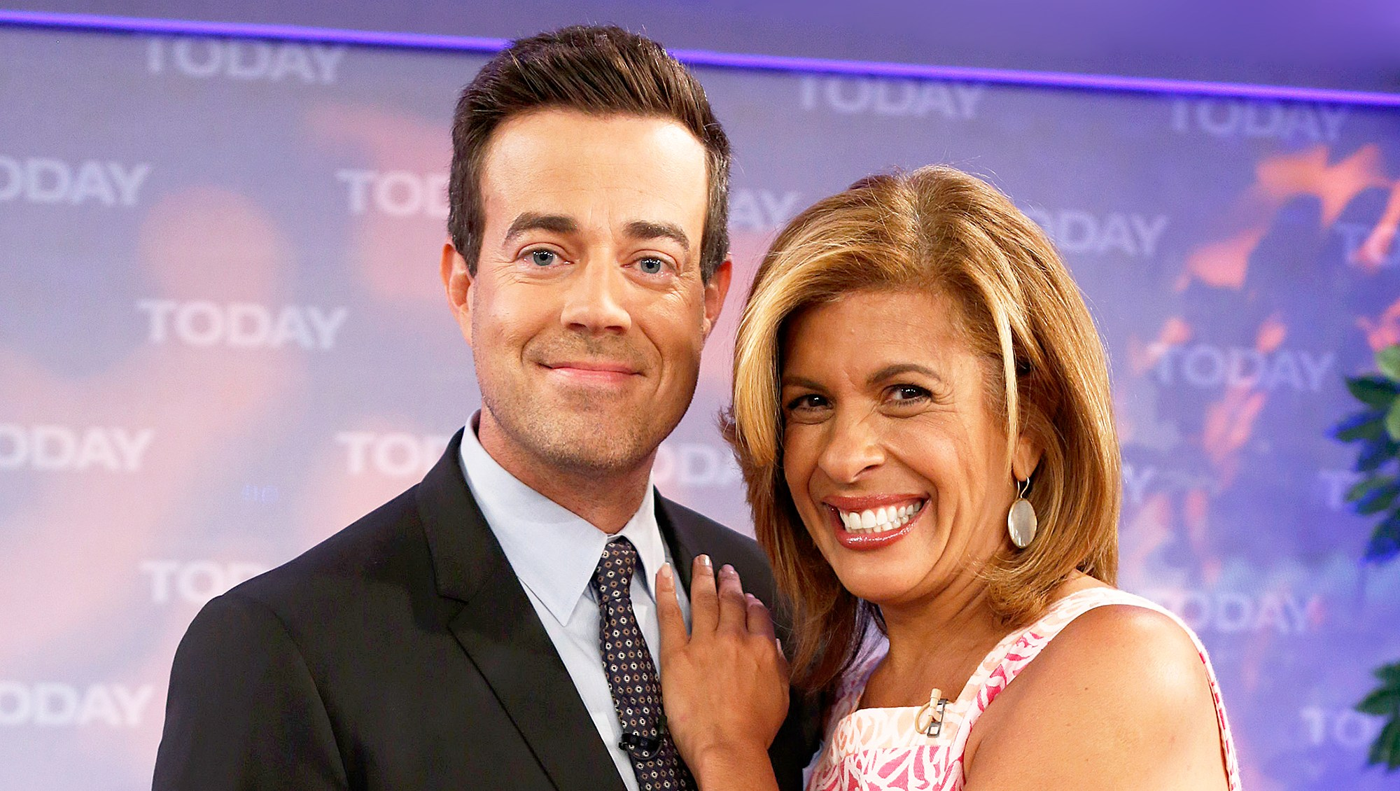 Carson Daly and Hoda Kotb on 'Today' show