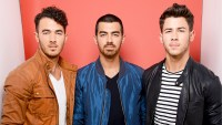 Kevin Jonas, Joe Jonas and Nick Jonas of The Jonas Brothers attend Fox Teen Choice Awards 2013 held at the Gibson Amphitheatre in Los Angeles, California.