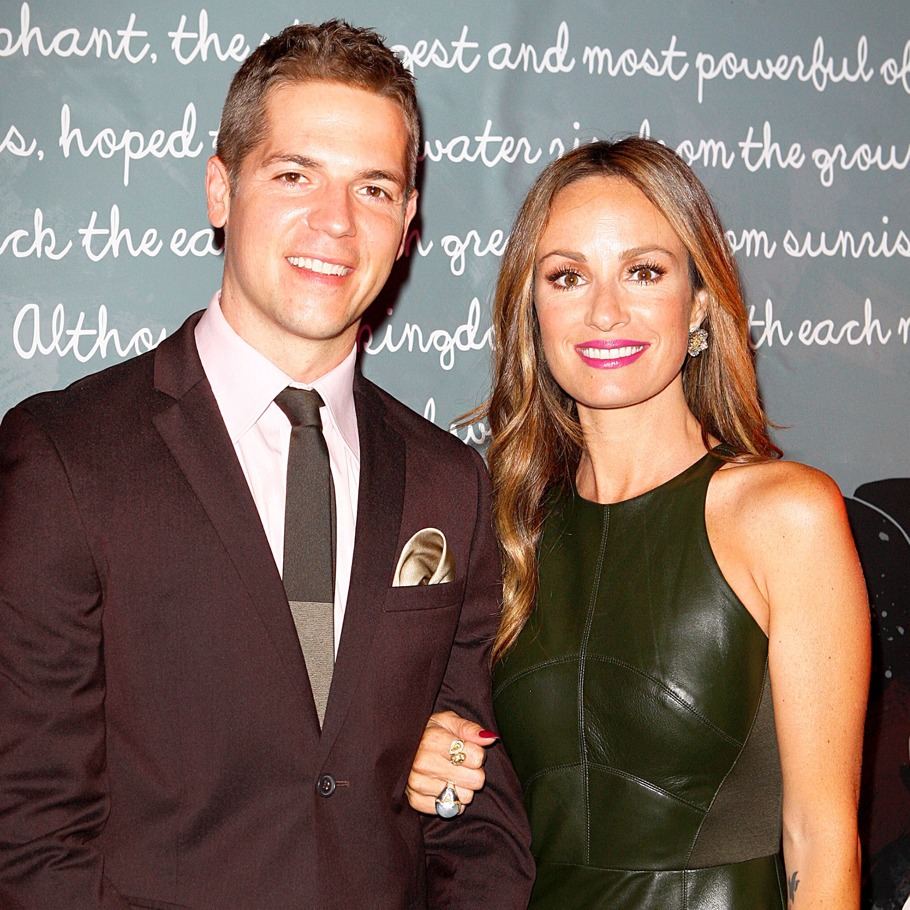 Jason Kennedy and Catt Sadler attend the 5th Annual Night Of Generosity at Beverly Hills Hotel in Beverly Hills, California.