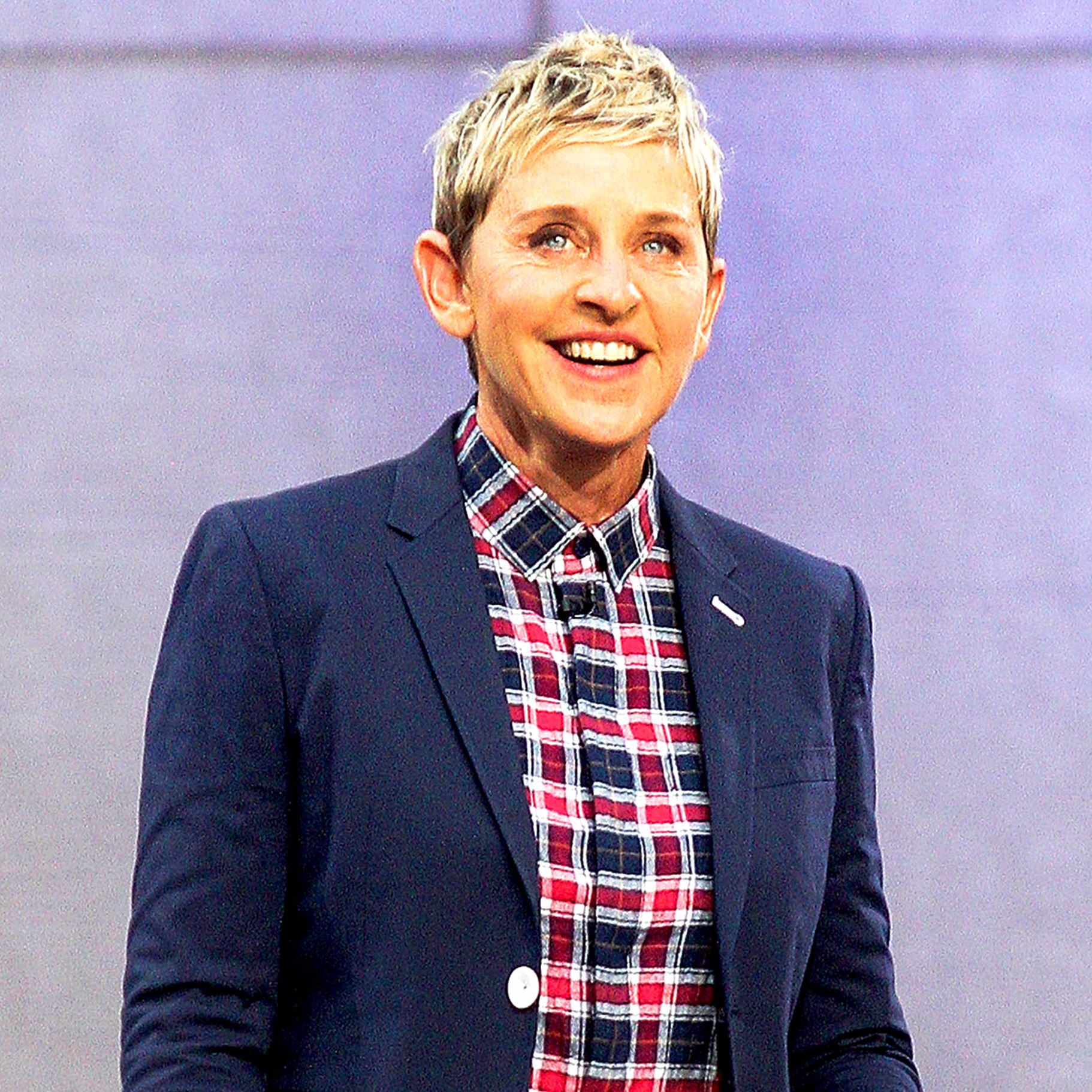 Ellen DeGeneres attends 'The Ellen DeGeneres Show' Bi-Coastal Premiere at Rockefeller Center in New York City.