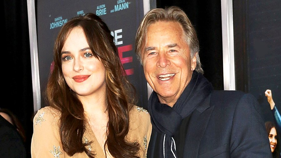 "Dakota Johnson and Don Johnson attend ""How To Be Single"" New York 2016 Premiere at NYU Skirball Center in New York City."