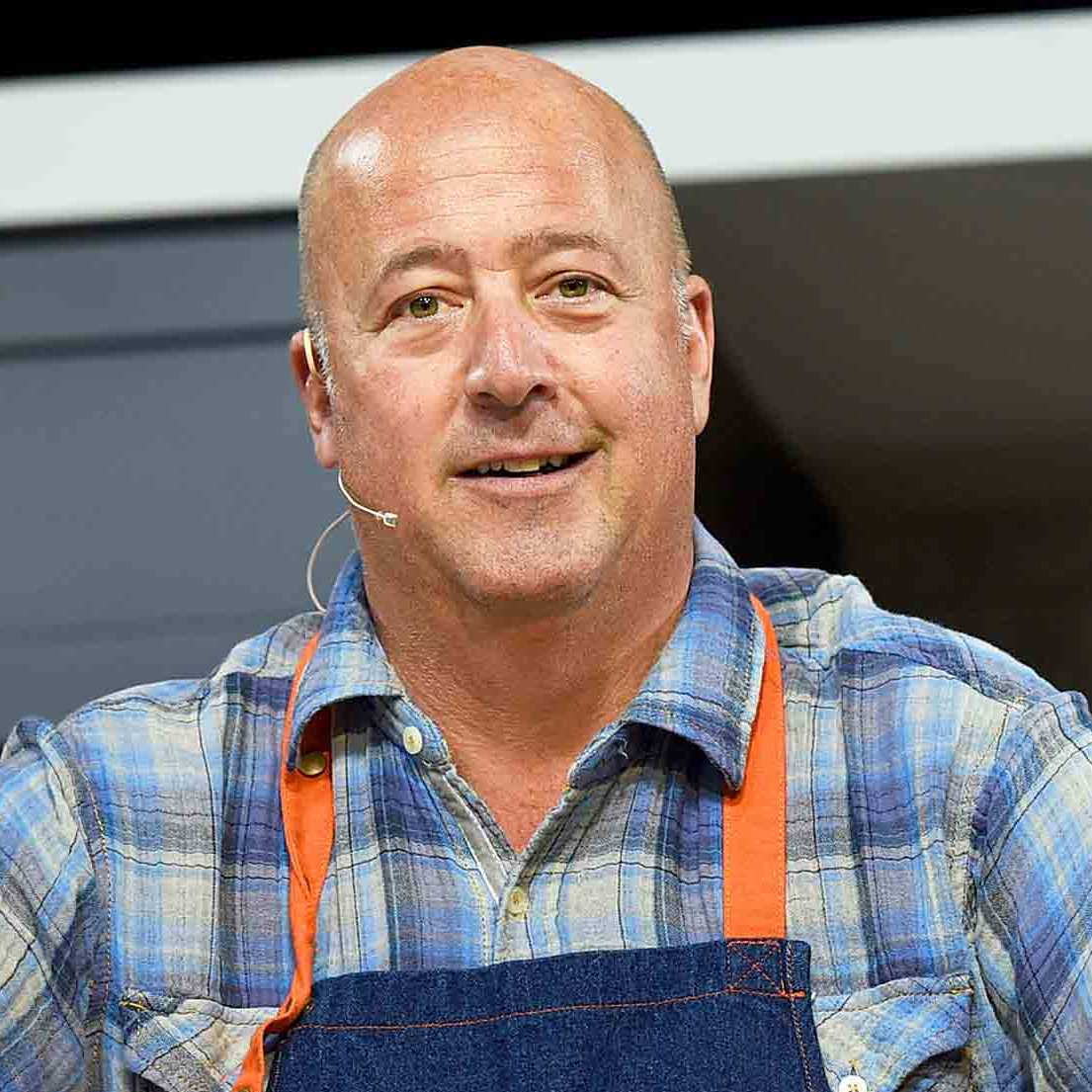 Chef Andrew Zimmern at the 2016 Food Network & Cooking Channel New York City Wine & Food Festival in New York City.