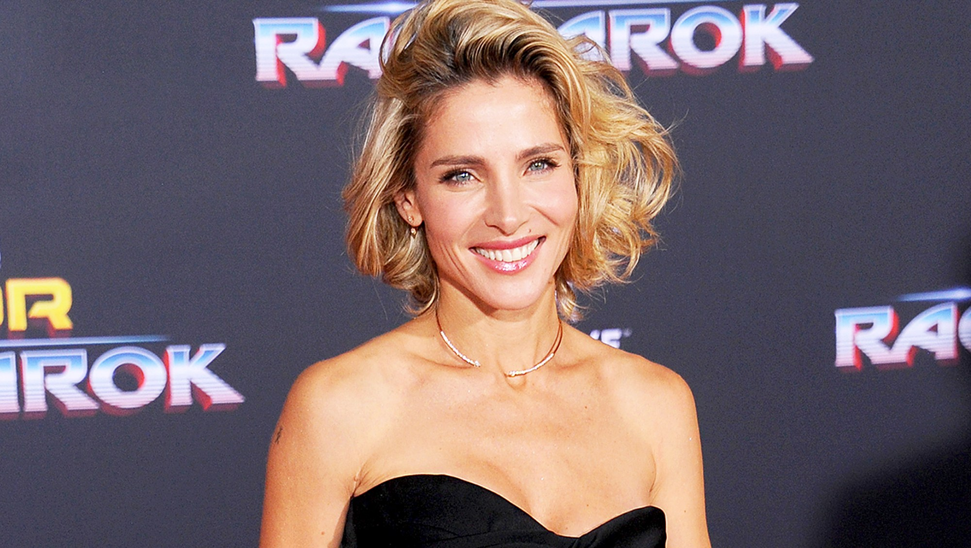 """Elsa Pataky arrives at the 2017 premiere of Disney and Marvel's """"Thor: Ragnarok"""" at the El Capitan Theatre in Los Angeles, California."""