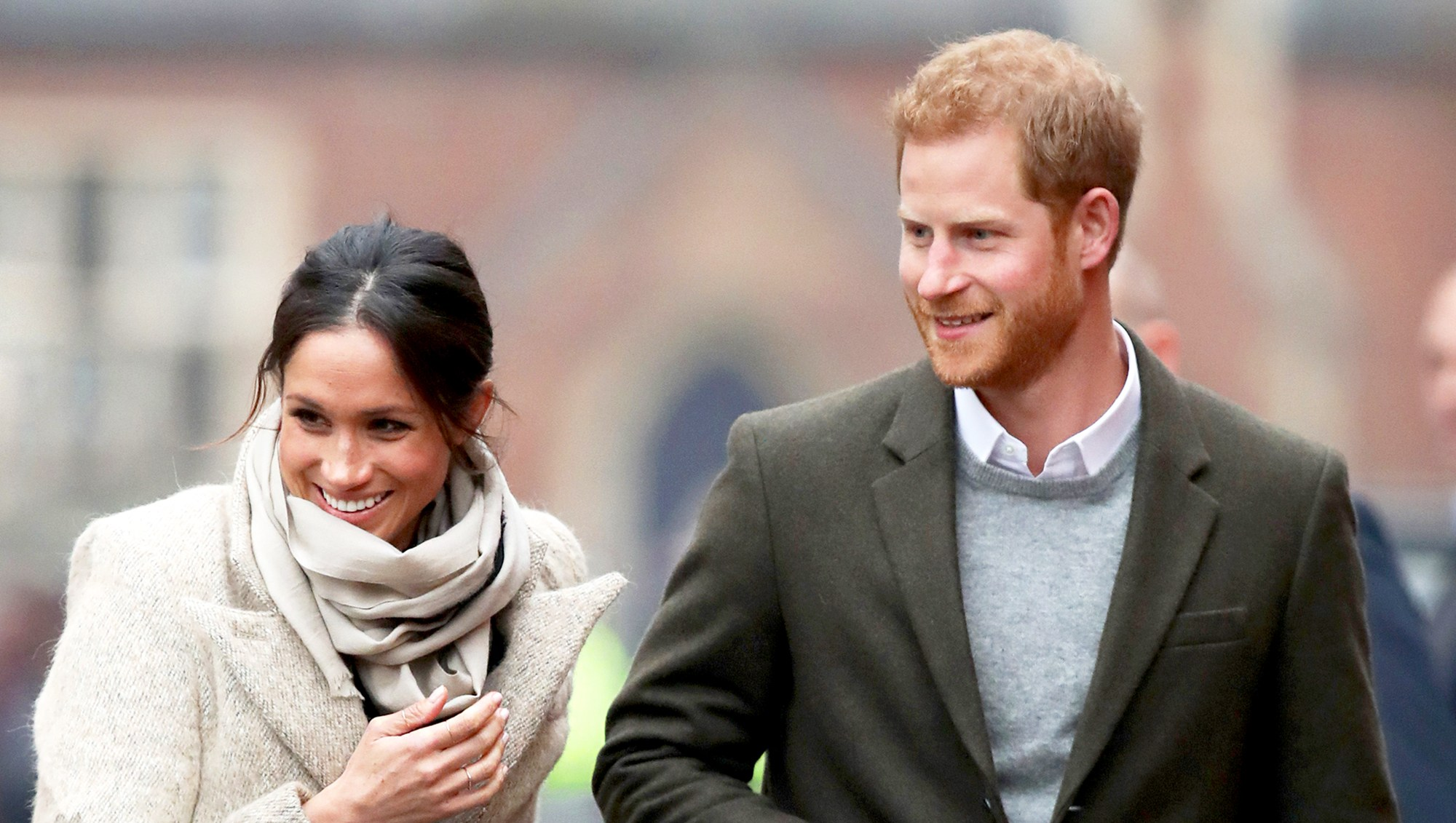 Meghan Markle and Prince Harry visit Reprezent 107.3FM on January 9, 2018 in London, England.