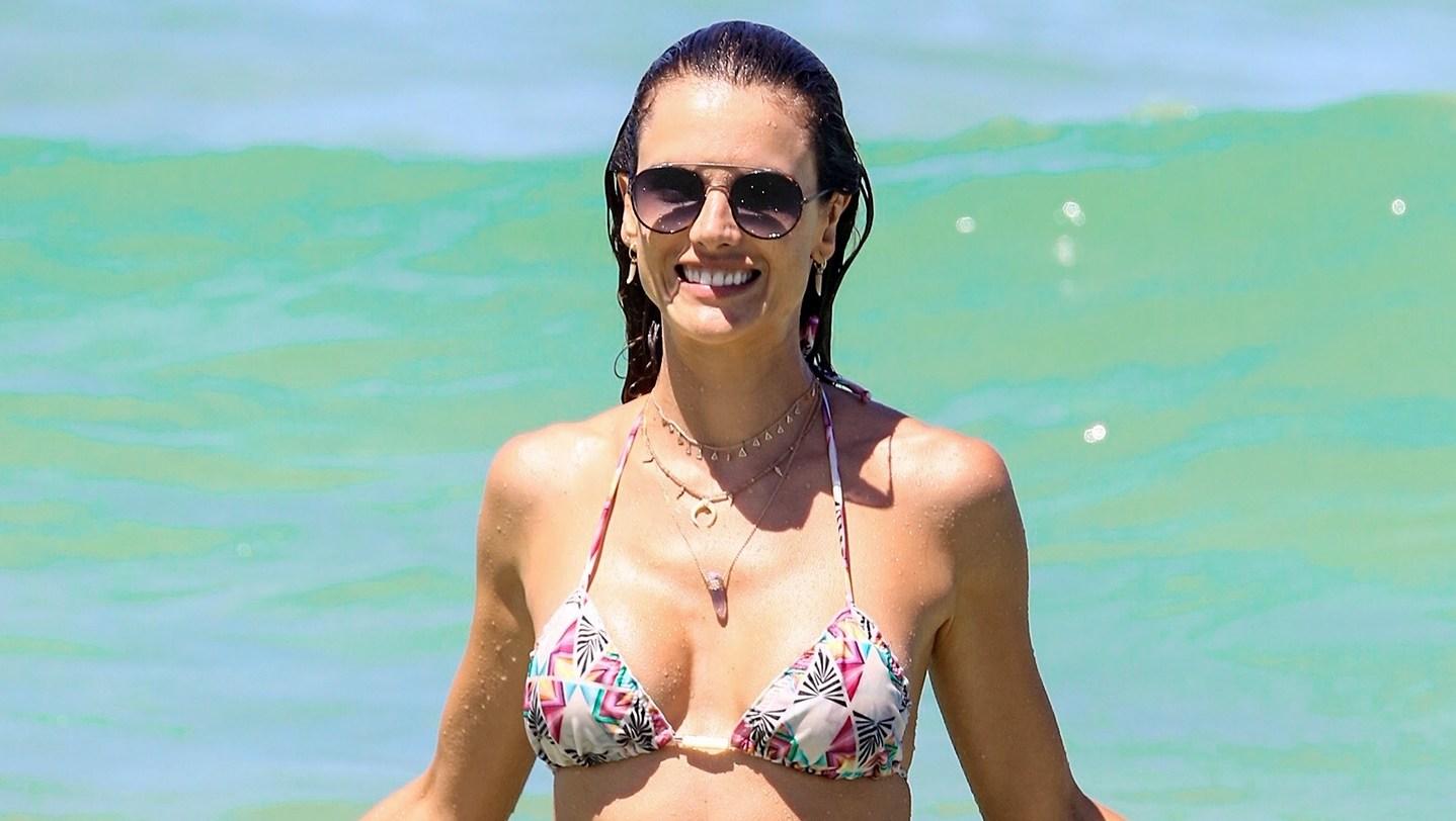 Alessandra Ambrosio bikini Brazil