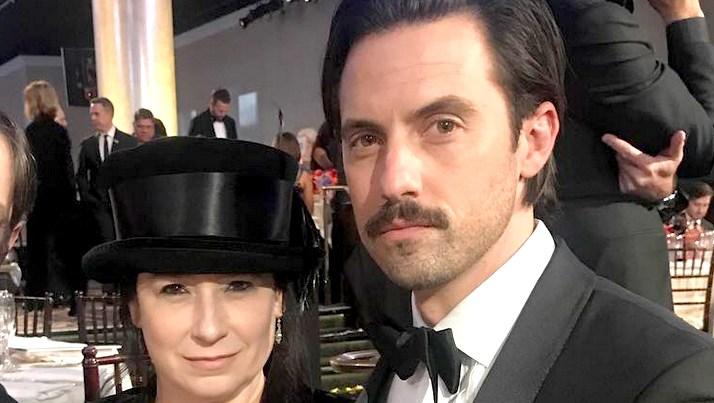 Amy Sherman-Palladino and Milo Ventimiglia